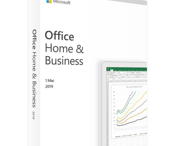 Microsoft Office 2019 Home and Business for Mac - [DIGITAL LICENCE]